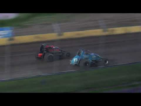 UMSS Traditional Sprint Feature - Cedar Lake Speedway 07/02/2021 - dirt track racing video image