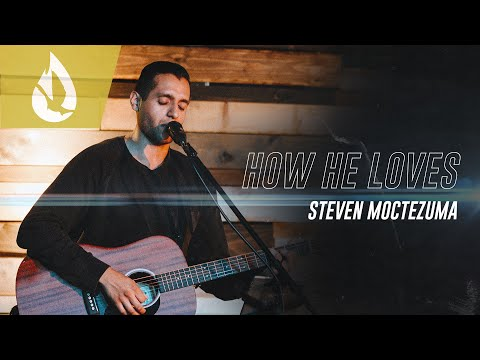 How He Loves (by David Crowder) with Lyrics  Acoustic Worship Cover by Steven Moctezuma
