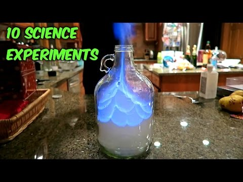 10 Awesome Science Experiments - Compilation - UCkDbLiXbx6CIRZuyW9sZK1g