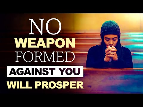 No Weapon Formed Against You Will Prosper - Live Re-broadcast