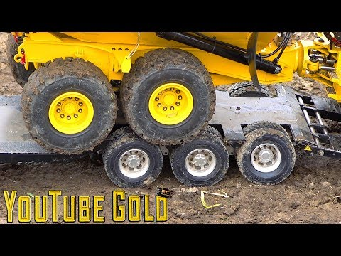 YouTube GOLD - ROADS PAVED with GOLD!  A Miniature Mining Show (s2 e9) | RC ADVENTURES - UCxcjVHL-2o3D6Q9esu05a1Q
