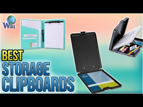 10 Best Storage Clipboards 2018 - UCXAHpX2xDhmjqtA-ANgsGmw