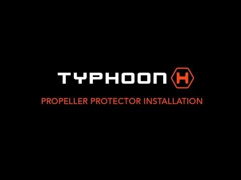 Typhoon H Propeller Protector Installation