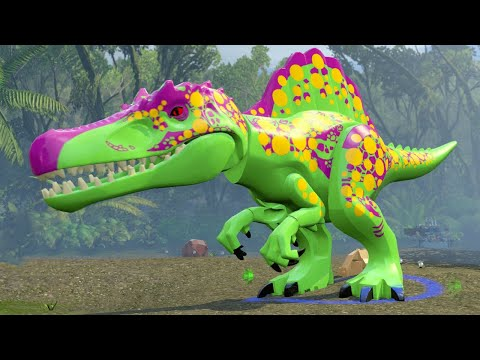 Let's Play LEGO JURASSIC WORLD Part 8: Jurassic Park 2 - The