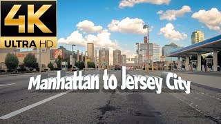 Manhattan (New York) To Jersey City (New Jersey) via Lincoln Tunnel (underneath Hudson River)