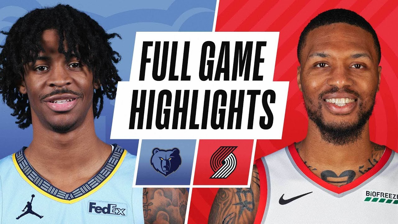 GRIZZLIES at BLAZERS | FULL GAME HIGHLIGHTS | April 23, 2021