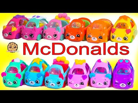 LOL Surprise Goes to McDonalds for Happy Meal Shopkins Cutie Cars ! Full Set of 12 - UCelMeixAOTs2OQAAi9wU8-g
