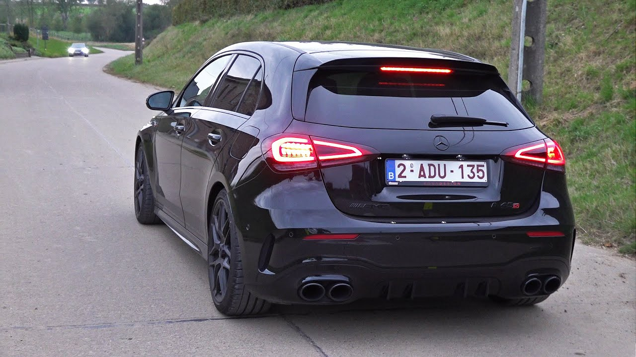 Mercedes-AMG A45S with Decat Milltek Sport Exhaust & OPF Delete! Launch Control & POPS & BANGS!