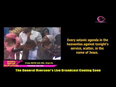 HAUSA MFM SPECIAL MANNA WATER SERVICE WEDNESDAY JULY 8TH 2020
