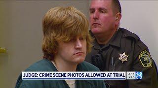 Photos OK'd in trial against murder, mutilation suspect