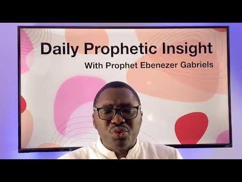 Prophetic Insight Jan 21st, 2021