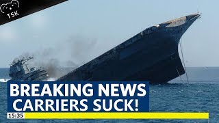 Carriers Being Carriers PART TWO! World of Warships Aircraft Carrier FAIL!