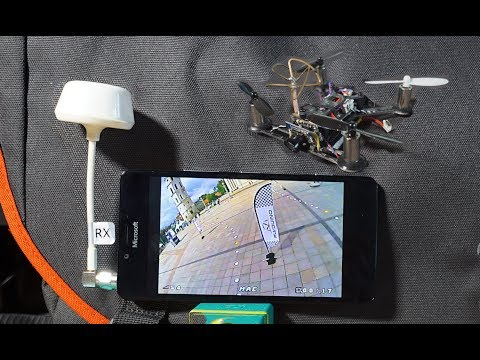 How to use Tablet, Phone Screen as FPV monitor, FPV Goggles - UCIZBTvtsrx-6-xMPyvPfMRQ
