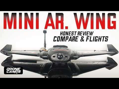 MINI AR Wing - 600mm FPV RACING WING! - Honest Review & Flights - UCwojJxGQ0SNeVV09mKlnonA