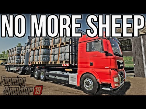 THE SHEEP ARE GONE!   Mercury Farms E33   Let's Play FS19 - VidVui
