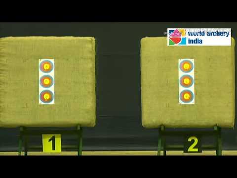 Rajat Chauhan vs Sunendu Roy - CM Final | Indian Open Indoor Archery Tournament - 2018