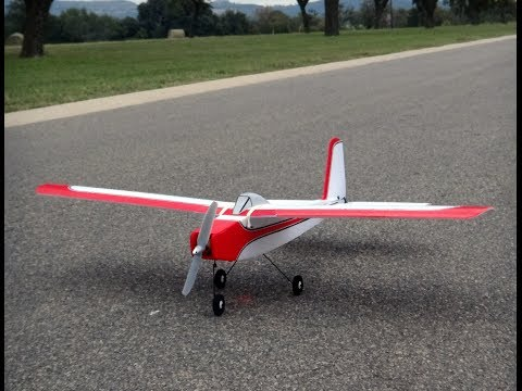 Great Planes Falcon maiden on a 2S 800 mAh and GWS 8x4 HD prop - UCCxh5YzQUwgVx6RMBK3zUGg