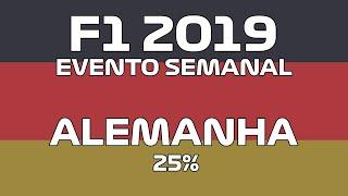 F1 2019 - Evento semanal Alemanha
