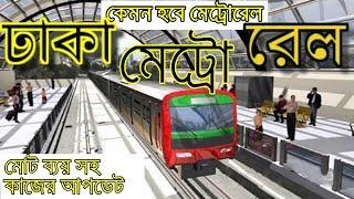 dhaka metro rail project,  work progress & Update, Rapid transit MRT ঢাকা মেট্রোরেল প্রজেক্ট
