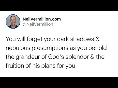 The Fruition Of My Plans For You - Daily Prophetic Word