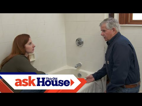 How to Caulk Around a Bathtub | Ask This Old House - UCUtWNBWbFL9We-cdXkiAuJA