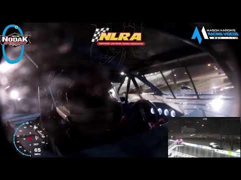 #44 Cole Schill WISSOTA Late Model On-Board @ Nodak (8/8/21) - dirt track racing video image