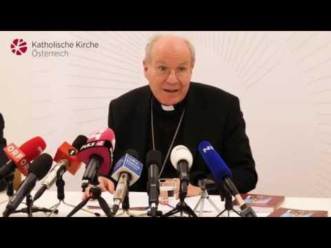 Pressekonferenz am 22. März 2019 mit Kardinal Schönborn