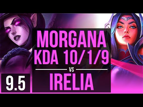 regarder e5303 5dcec MORGANA vs IRELIA (MID) | KDA 10/1/9, Legendary | EUW ...