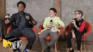 Dive In w/ 'Good Boys' Cast (Jacob Tremblay, Keith L. Williams & Brady Noon) | MTV News