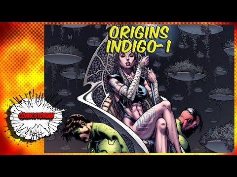 Indigo-1 and the Indigo Corp Origins | Comicstorian - UCmA-0j6DRVQWo4skl8Otkiw