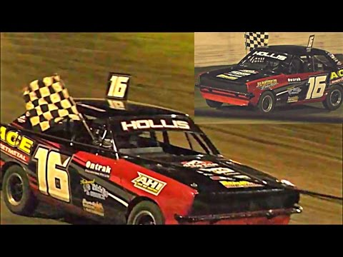 Junior Sedans Final Southern 500 Speedway Portland 2-1-2017 - dirt track racing video image