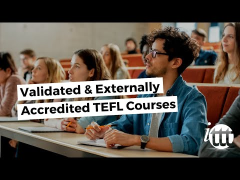 Validated and Externally Accredited TEFL Courses - ITTT
