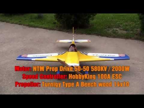RC Katana .46 EP 55in maiden flight (2013-07-02) - UCZmVLEiCaf1ZeqKIcEgBtpg