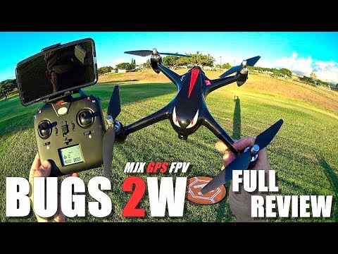 MJX BUGS 2W Drone - Full Review - [Unboxing, Inspection, Flight Test, Pros & Cons] + GIVEAWAY News! - UCVQWy-DTLpRqnuA17WZkjRQ