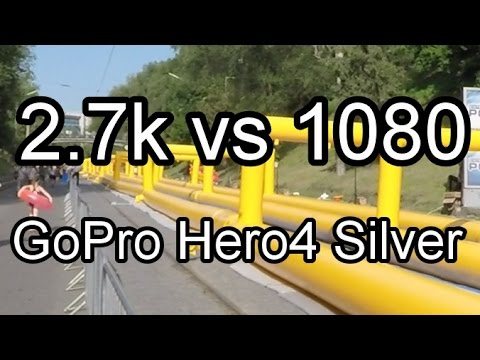 GoPro Hero4 Silver: 2.7k vs 1080p (Sharpness Comparison Test)