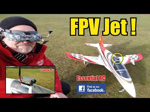 First Person View (FPV) RC JET RIDE (RunCam2 FPV docking station): ESSENTIAL RC FLIGHT TEST [4K] - UChL7uuTTz_qcgDmeVg-dxiQ