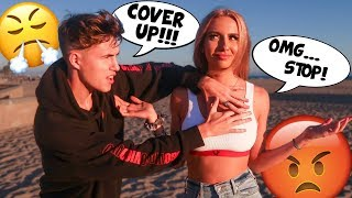 Being An OVERPROTECTIVE BOYFRIEND to See How My Girlfriend Reacts!