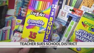 Teacher sues Cherokee County School District