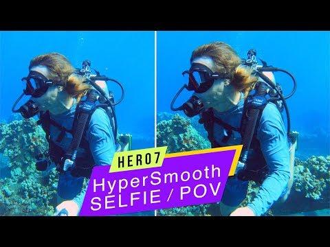 GoPro Hero7 Black: Selfie/POV HyperSmooth Underwater Comparison!  GoPro Tip #637 - UCTs-d2DgyuJVRICivxe2Ktg