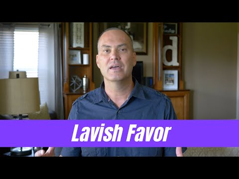 Prophetic Word: Lavish Favor - Joe Joe Dawson