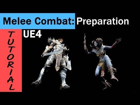 UE4 Melee combat tutorial for beginners and intermediates