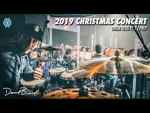 2019 Christmas Program! // Pt  1, Prep // Drum Vlog