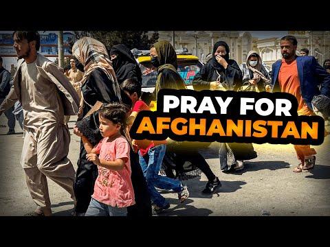 Prayer for Afghanistan 2021