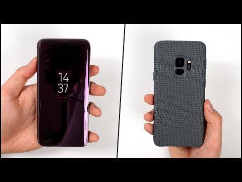 Die besten Cases für das Galaxy S9 & S9+? - Samsung Hyperknit & Clear View Standing Cover | SwagTab - UCCqepY-W86CAXNHbnUwR5ow