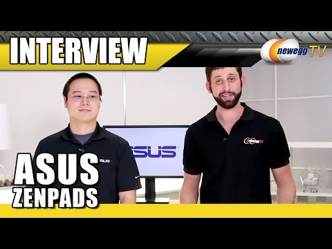 ASUS ZenPads Interview - Newegg TV - UCJ1rSlahM7TYWGxEscL0g7Q