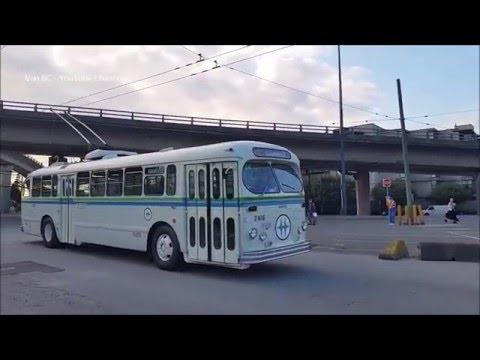 1954 Canadian Car Brill T-48A trolleybus Fan Trip