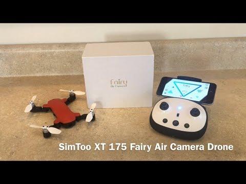 SimToo XT175 Fairy Air Camera Drone - UCbuiCNLT7o1l695mx-o0N0A