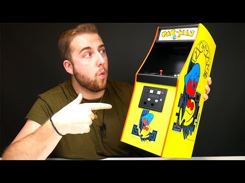 Unboxing The $200 Mini PAC-MAN Arcade Cabinet - UCRg2tBkpKYDxOKtX3GvLZcQ