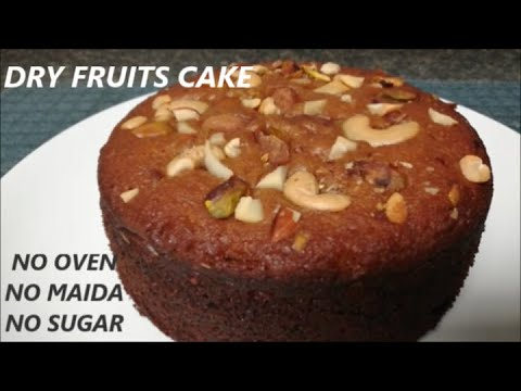 EGGLESS WHOLE WHEAT DRY FRUIT'S CAKE IN PAN(No Condense milk or Sugar)Tea Cake|Bake with Nidhi - UCeWinLl2vXvt09gZdBM6TfA