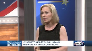 Gillibrand answers questions for NH voters